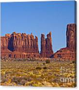 Valley Monuments  Canvas Print