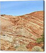 Valley Of Fire - Fire Wave Panorama Canvas Print