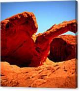 Valley Of Fire Nevada Desert Canvas Print