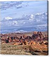 Valley Of Fire Vista Canvas Print