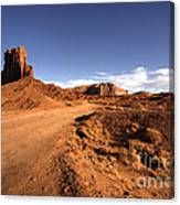 Valley Of Monuments  Canvas Print