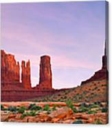 Valley Of The Gods - A Oasis For The Soul Canvas Print