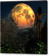 Valley Of The Moon... Canvas Print