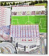 Valley Parade Stadia Art - Bradford City Fc Canvas Print