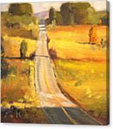 Valley Road Canvas Print