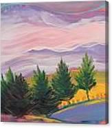 Valley Storm 8 Canvas Print