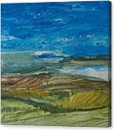 Valley Storm Canvas Print