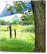 Valley View Along Flat Creek Rd Canvas Print