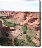 Canyon De Chelly Valley View   Canvas Print