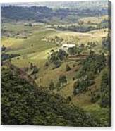 Valley View Of  Atherton Tableland Canvas Print