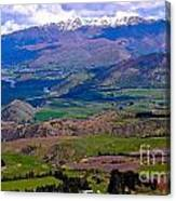 Valley Views Canvas Print
