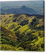 Valleys And Mountains Canvas Print