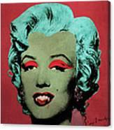 Vampire Marilyn Variant 1 Canvas Print