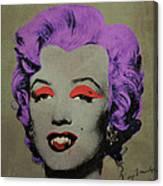 Vampire Marilyn Variant 3 Canvas Print