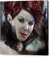 Vampiress Canvas Print