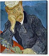 Van Gogh Dr Gachet Canvas Print