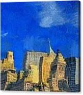 Van Gogh Meets Manhattan Canvas Print