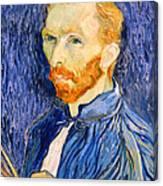 Van Gogh On Van Gogh Canvas Print