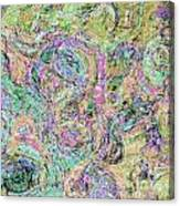 Van Gogh Style Abstract I Canvas Print