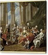Van Loo, Louis Michel 1707-1771. Philip Canvas Print