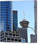 Vancouver Architecture 2 Canvas Print