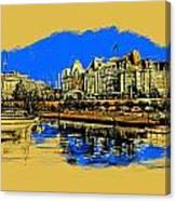 Vancouver Art 001 Canvas Print