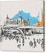 Vancouver Art 003 Canvas Print