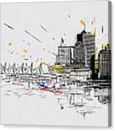 Vancouver Art 004 Canvas Print