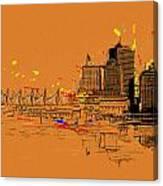 Vancouver Art 006 Canvas Print