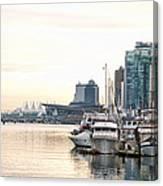 Vancouver Boats  Canvas Print