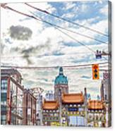 Vancouver China Town Canvas Print