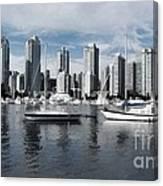Vancouver Harbour  Canvas Print