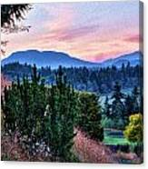 Vancouver Island Evening Canvas Print