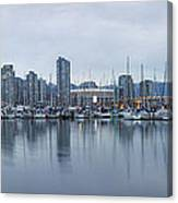 Vancouver Panorama Canvas Print