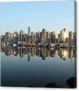 Vancouver Reflected Canvas Print