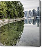Vancouver Reflections Canvas Print