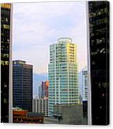 Vancouver Reflections Two Canvas Print