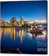 Vancouver Skyline - By Sabine Edrissi Canvas Print