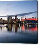 Vancouver Skyline With Bc Place Canvas Print