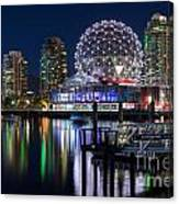 Vancouver Telus World Of Science - By Sabine Edrissi Canvas Print