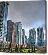 Vancouver Waterfront Canvas Print