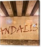 Vandalism Canvas Print