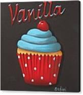 Vanilla Cupcake Canvas Print