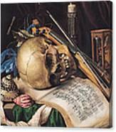 Vanitas Canvas Print