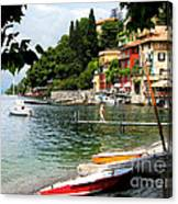 Varenna.lake Como Canvas Print