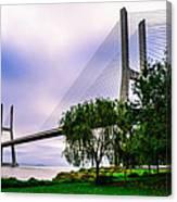 Vasco Da Gama Bridge I Canvas Print