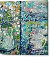 Vase And Demitasse Canvas Print