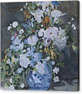 Vase Of Flowers - Reproduction Canvas Print