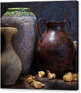 Vases And Urns Still Life Canvas Print