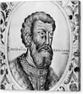 Vasily II (1415-1462) Canvas Print